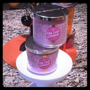 Pink Fairy Gumdrop Bath and Body Works Candle